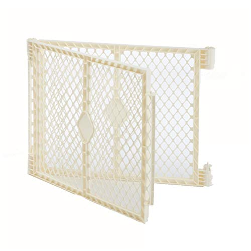 """Toddleroo by North States Superyard Ultimate 2-Panel Extension: Increases play space up to 34.4 sq. ft. (Adds 64"""", Ivory)"""