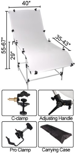 40x80 inch Tabletop Photo Studio Shooting Table by Mega Brands