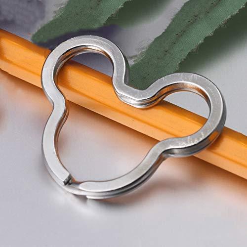 Mouse DimBO Split Ring Key Rings Nickel Plated Steel 20 -