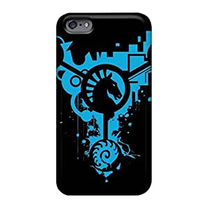 High Quality Cell-phone Hard Covers For Iphone 6plus (tmX12202UtCU) Support Personal Customs Beautiful Moonspell Band Morbid God Skin