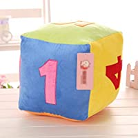 Hold Pillow - Plush Toy Digital Dice Puzzle Teaching Aid Sieve Doll Pillow Large Cloth Doll