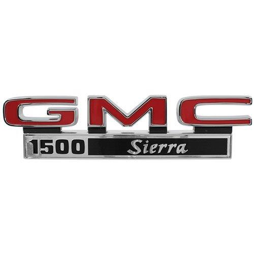 "Trim Parts 9824 Truck Front Fender Emblem (1971-1972 GMC ""GMC 1500 Sierra"")"