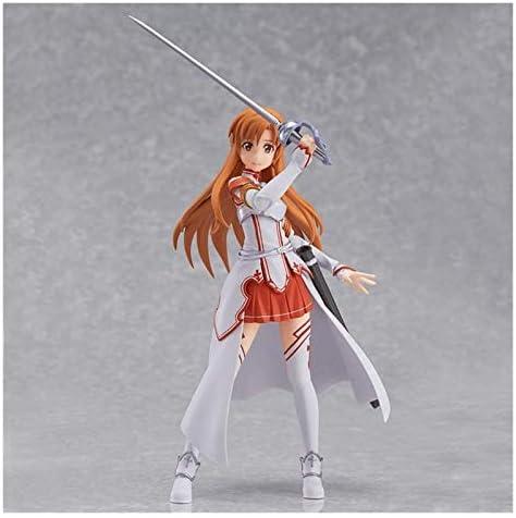 XIAOGING Sword Art Online Yuuki Asuna Anime figuur 14cm-VRMMORPG Asuna-Figurine Decoration Ornamenten Collectibles Toy Animaties Character Model