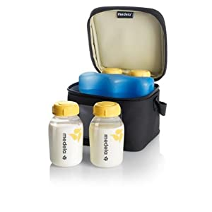 Medela Cooler Bag with 4 Bottles (150ml only)