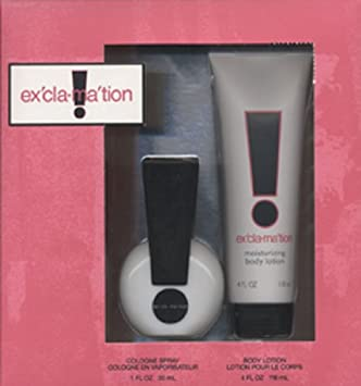 Amazoncom Exclamation Perfume For Women By Coty 2 Piece Gift Set
