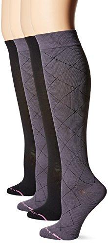 Soxland Womens Compression Socks Nylon Diamonds product image