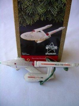 Star Trek Starship Enterprise (Saucer Lights Blink) by Hallmark by Hallmark
