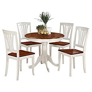5 piece dining room sets 5 pedestal dining room set table 22864