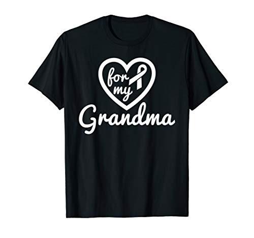 Lung Cancer Shirts Grandma Ribbon Heart Awareness Products -