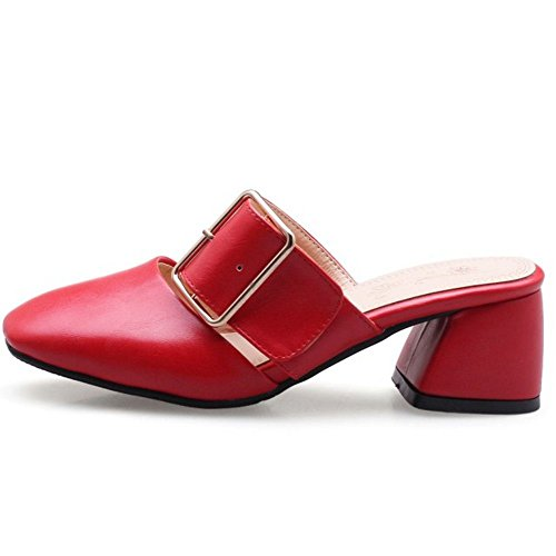 Sandali Zanpa Red Donna 1 Estive Scarpe nXtXgxr