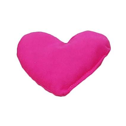 Huhuswwbin - Cojín para Perro, diseño de corazón, Color Rosa ...
