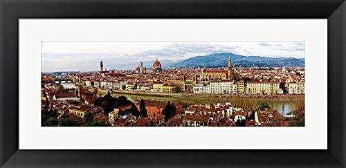 Panoramic View of Florence by Vadim Ratsenskiy Framed Art Print