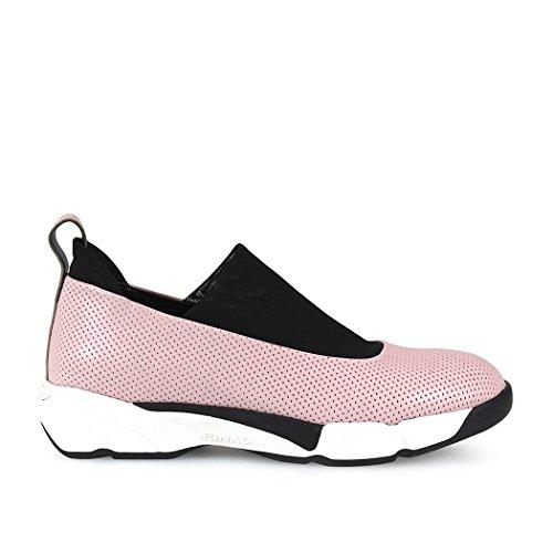 Cuero 1h209uy39mp39 Slip Zapatillas on Rosa Pinko Mujer t1AqxfwtZ