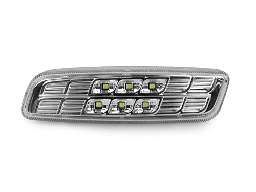 DEPO 2000-2005 Lexus IS 300 / 1998-2004 GS300 / GS400 / GS430 Clear Amber LED Side Marker Light - 312 Ultra Flush