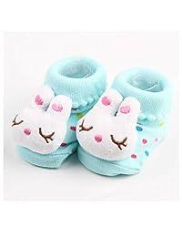 GOOTRADES Newborn Baby Girls/Boys Anti-slip Socks Cotton Boots 0-6 Months