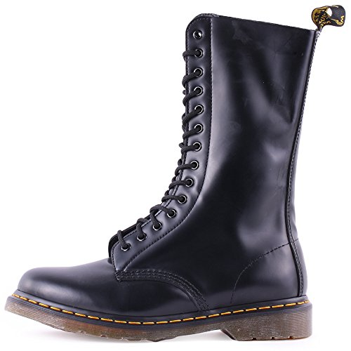 Dr 1914 5 Black Laced Martens Unisex Boots Leather r5gr0qw