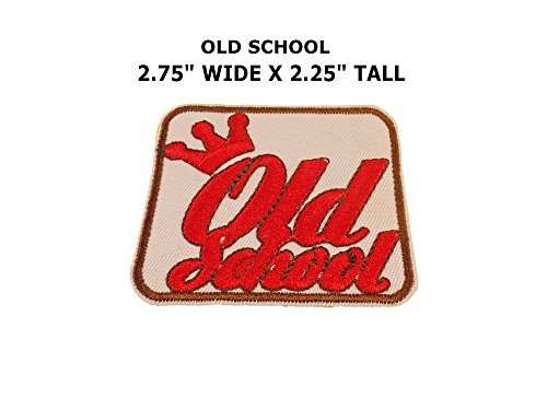 Old School Spiderman Costume (Old School Crown Iron or Sew-on Patch)