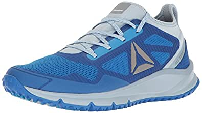 Reebok Men's All Terrain Freedom Trail Runner, Awesome Blue/Gable Grey/Asteroid Dust/Horizon Blue, 7 M US