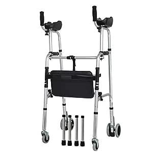 Trella - andador para personas mayores con asiento y reposabrazos ...