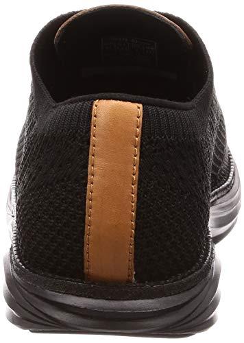 Mbt Wt Boston knit De Brogue Mujer Para Negro Zapatos Cordones M W AgHqxA7