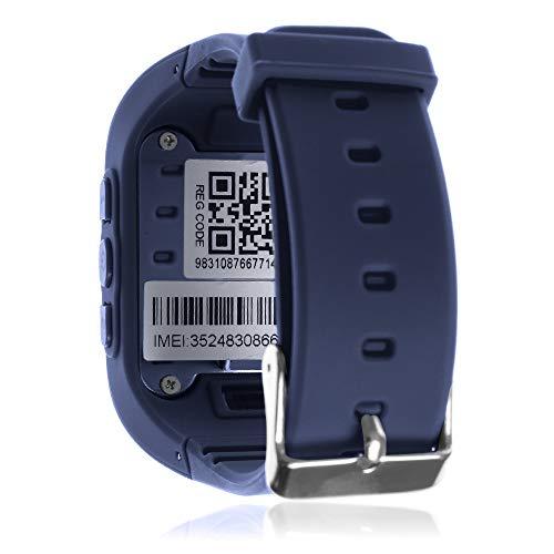 DAM TEKKIWEAR. DMW007DBL. Smartwatch GPS Q50 Especial para Niños, con Función De Rastreo, Llamadas Sos Y Recepción De Llamada.