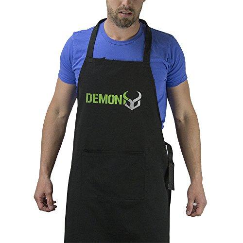 (Demon Work Shop Apron- Bike, Ski, Snowboard Shop Apron)