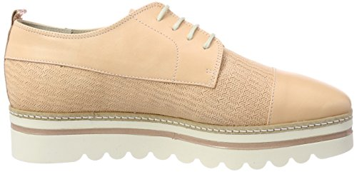 De apricot Para Up O'polo Oxford Shoe Marc Orange Lace Mujer Zapatos Cordones nq1wpBOx6