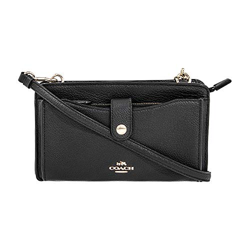 Price comparison product image Coach Women`s Pop-Up Messenger Bag In Polished Pebble Leather