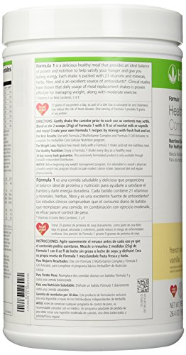 Herbalife ShapeWorks QuickStart - *Includes; VANILLA Formula 1 Healthy Meal Nutritional Shake Mix (750 g) Formula 2 Multivitamin Complex 90 tablets Formula 3 Cell Activator® 60 tablets Herbal Tea Concentrate (50 g) by Herbalife (Image #4)