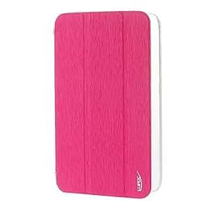 compra Imprimir patrón Toothpick PU del tirón del cuero Abrir Cubierta posterior bolsas para Samsung Galaxy Tab 7.0 GT-P3200/T210 , Verde