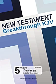 New Testament: Breakthrough KJV by [Geide, Ray]
