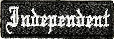 - INDEPENDENT Old English No MC Club Lone Wolf Motorcycle NEW Biker Patch PAT-3462