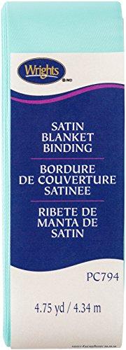 Wrights 117794406 Single Fold Satin Blanket Binding, 2