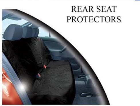REAR CAR SEAT COVER PROTECTOR for SKODA FABIA
