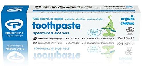 Organic Children Aloe Vera & Spearmint Toothpaste - ()