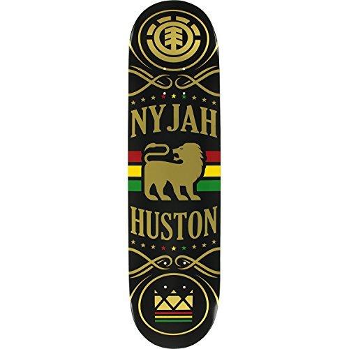 コイン変な国民Element Skateboards Nyjah Huston Shine Skateboard Deck - 8