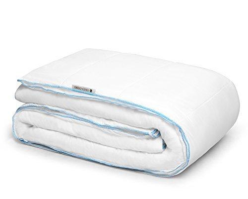 200x220 Vierjahreszeiten 4 Jahreszeiten Bettdecke Steppbettdecke Füllung 100% HCS - Faser antiallergisch für Allergiker Öko-Tex Standard 100 1900g (zwei Bettdecken je 950g)