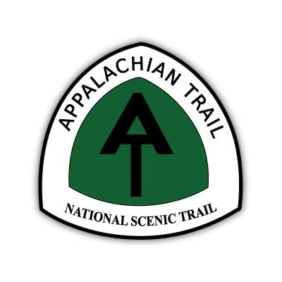 "Appalachian Trail National Scenic Trail sticker decal 4"" x 4"": Automotive"