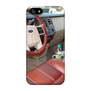 Shock-Absorbing Cell-phone Hard Cover For Iphone 5/5s With Support Your Personal Customized Lifelike Ford Truck Skin LauraAdamicska