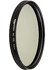 AmazonBasics Circular Polarizer Lens, 77 mm