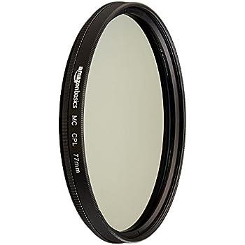 AmazonBasics Circular Polarizer Lens - 77 mm