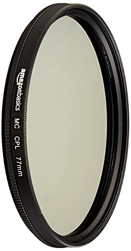 AmazonBasics Zirkularer Polarisationsfilter - 77mm