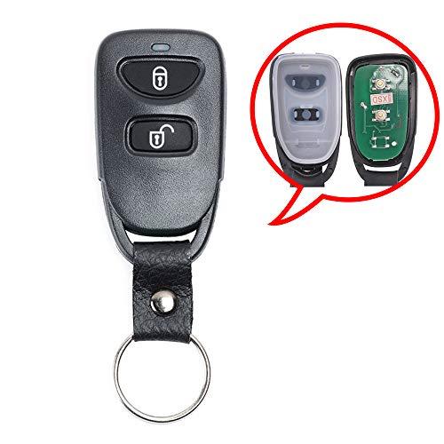 (Beefunny 434MHz FCC: SEKS-07TX Smart Keyless Entry 2 Button Remote Car Key Fob for Kia Sportage 2005 2006 2007 2008 (1))