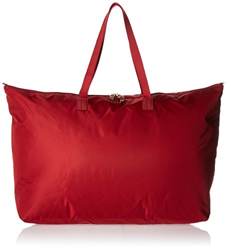 Tumi Women's Voyageur Just in Case Travel Tote, Crimson, One Size