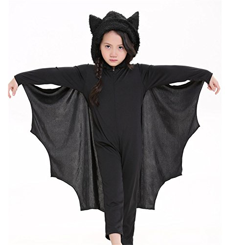 Unisex Bat Kids Animal Fancy Dress Costume Uniforms (Kid Fancy Dress Costumes)