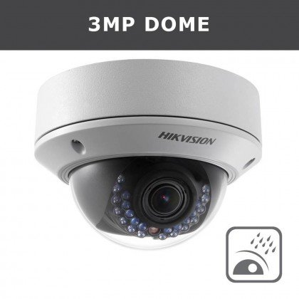 1 3 Megapixel Hd Ir Waterproof Outdoor Ip Camera - 2