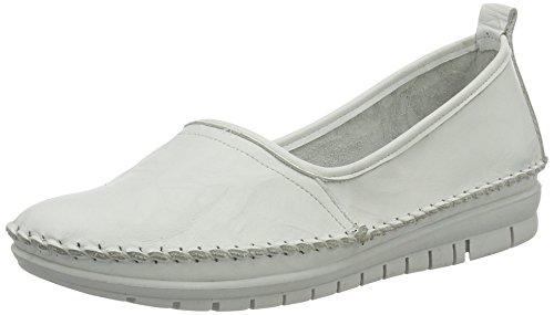 Andrea Conti Women's 0021627 Loafers White (Weiß 001) ZWnb8