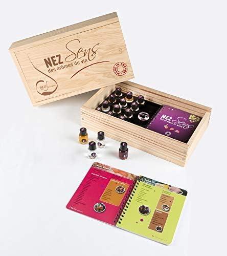 Info Saveurs – Estuche 12 aromas de vino – Nez Sens - Los aromas del vino: Amazon.es: Hogar