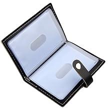 Soft Leather Case Wallet Bag Holder for 20 Credit Cards