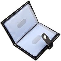 Karlling Soft Leather Case Wallet Bag Holder for 20 Credit Cards Black